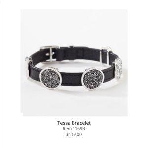 "Touchstone Crystal ""Tessa Bracelet"" in Swarovski"